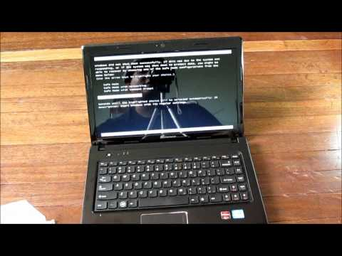 Lenovo G470 Notebook Unboxing
