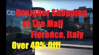 Designer Shopping at The Mall, Florence, Italy. PRICES! (Gucci, Prada, Bottega, Givenchy, Burberry)