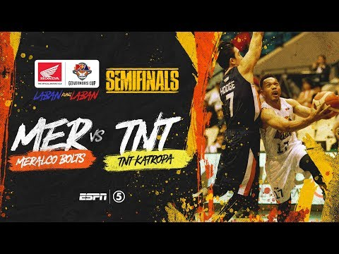[Sport5]  Full Game: G4: Meralco vs TNT | PBA Governors' Cup 2019 Semifinals
