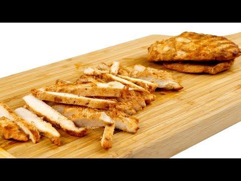 Как приготовить курицу для салатов. Подробный видео рецепт. 4к видео