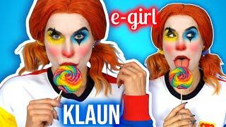 ♦ Łatwy makijaż na Halloween dla dziewczyn - KLAUN w stylu E-GIRL ♦ Agnieszka Grzelak Beauty