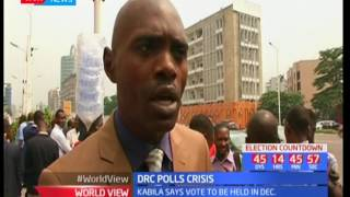 DRC polls crisis : Opposition threatened to protest