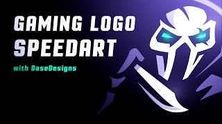 Why I Haven't Made A Mascot Logo Tutorial | Gaming Logo SpeedArt | DaseDesigns