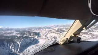 Flight into Eagle - Vail, CO