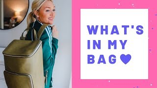 WHAT'S IN MY BAG | EVERYDAY PURSE + OFFICE BAG | 2019 | Laura-Lee