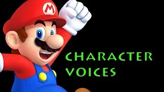 Mario Party 9 - All Character Voices