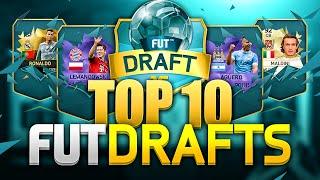 TOP 10 FUT DRAFTS
