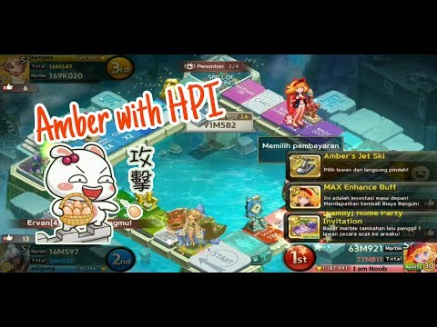 GAMEPLAY S+ AMBER aka KIMI HIME JILID 2 ! MANTAB NIH COMBO SAMA HPI 😎 LINE LET'S GET RICH INDONESIA