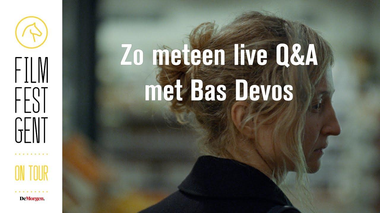 Herbekijk de Q&A met Bas Devos