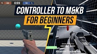 Controller to Mouse and Keyboard for Beginners Apex Legends Tips AIM LAB KOVAAK'S FPS AIM TRAINE