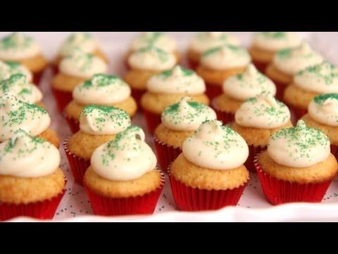 Mini Eggnog Cupcakes Recipe – Laura Vitale – Laura in the Kitchen Episode 516