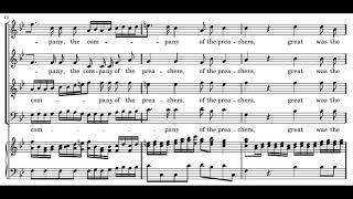 Händel: Messiah - 38. The Lord gave the word - Gardiner