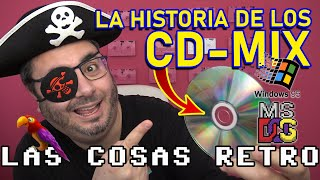 La HISTORIA de los CD-MIX 🏴‍☠️ El PIRATEO en los 90s