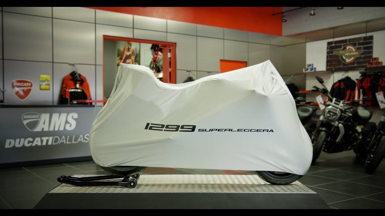 Ducati North America Delivers the First 1299 Superleggera in Dallas
