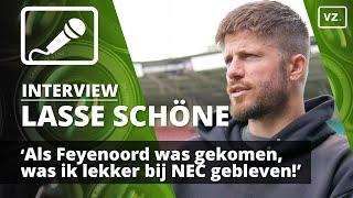 Lasse Schöne: 'Bleef liever bij NEC dan naar Feyenoord'