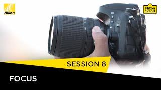 Nikon School D-SLR Tutorials -  Focus - Session 8