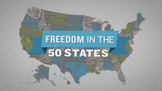 Top 5 States: Freedom in the 50 States