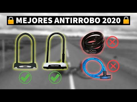 🔒 Mejores Antirrobo o candados para Bicicleta - 2020 🚴♀️
