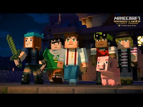 Minecraft Story Mode : premier trailer du jeu