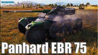 НЕ ДЛЯ СЛАБОНЕРВНЫХ ✅ Panhard EBR 75 World of Tanks