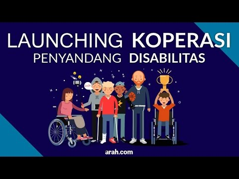 Launching Koperasi Penyandang Disabilitas