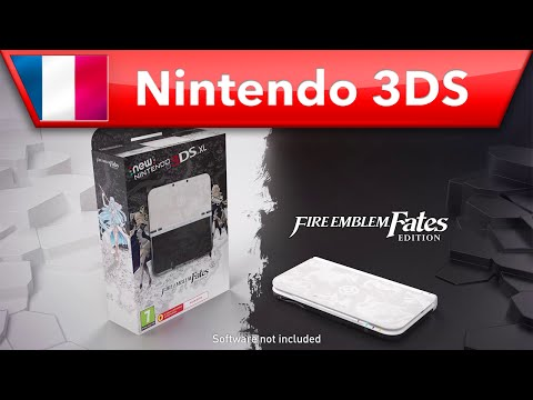 Console 3DS collector Fire Emblem Fates