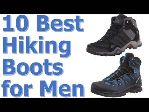 Top 10 Best Hiking Boots For Men Reviews || Best Hiking Boots 2017