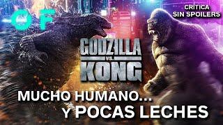 'GODZILLA VS. KONG': Un duelo espectacular... con sus más y sus menos