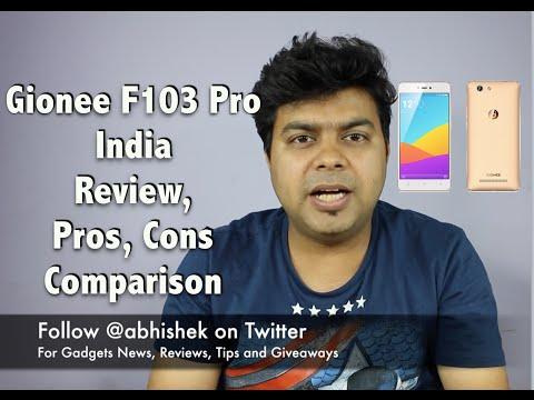 Hindi | Gionee F103 Pro, Full Review, Pros, Cons, Comparison | Gadgets To Use