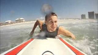 surfing in a hurricane - jimmy buffet (my video)