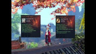 Blade and Soul] Galaxy Legendary Weapon! Gearing Guide Part 2 - Most