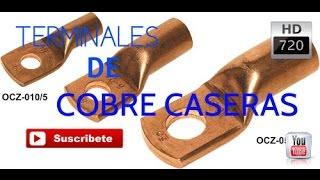 COMO HACER TERMINALES 100% DE COBRE / CAR AUDIO - HD