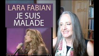 Voice Teacher Reaction To Lara Fabian Je Suis Malade