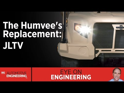 SAE Eye on Engineering: The Humvee's Replacement: JLTV