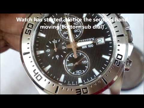 Citizen watch battery replacement - AN3460