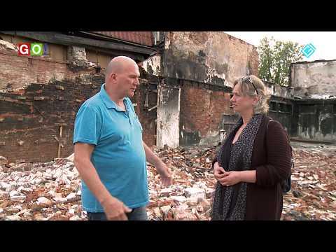 Benni Drenth vertelt over de explosie en brand in zijn woning. - RTV GO! Omroep Gemeente Oldambt