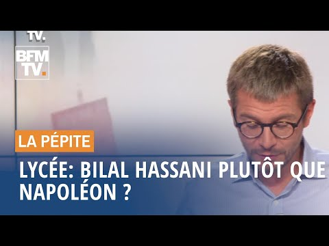 Lycée: Bilal Hassani plutôt que Napoléon ? - 10/09 Lycée: Bilal Hassani plutôt que Napoléon ? - 10/09