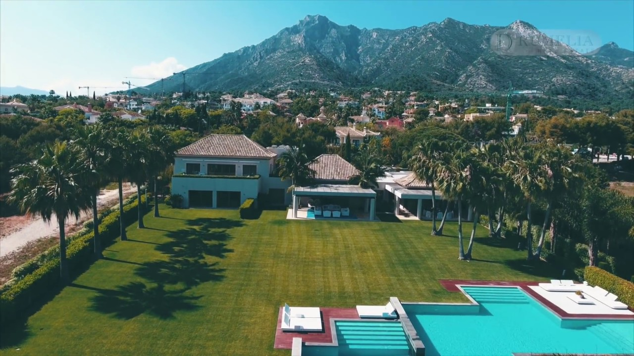 Outstanding Mansion at Foothills, Sierra Blanca, Golden Mile