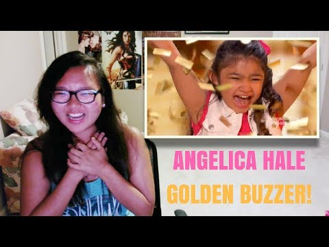 Angelica Hale: 9 Year Old Earns Golden Buzzer From Chris Hardwick - America's Got Talent REACTION!!!