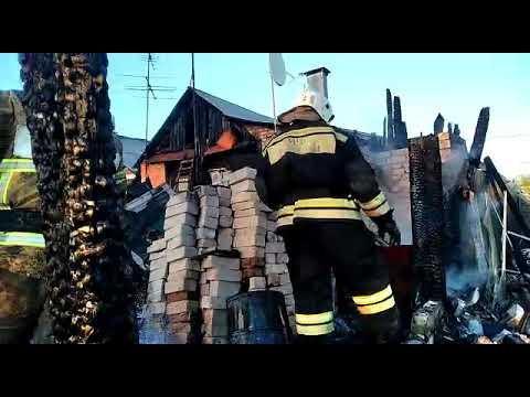 В Запанском загорелись пять жилых домов
