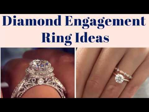 Diamond Engagement Rings - 200+ Engagement Ring Ideas For Women 2019