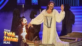 "Miroslav Etzler a Roman Vojtek - ""The Phantom Of The Opera"" | Tvoje tvář má známý hlas"