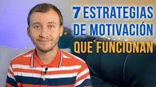 Video: 7 Estrategias De Motivación Que Funcionan