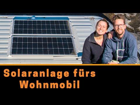 Solaranlage für´s  Wohnmobil - Montage + Review nach 6 Monaten Nutzung