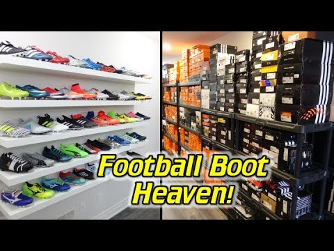 I Built a New House For My Soccer Cleats Collection! – New SR4U Boot Room Tour