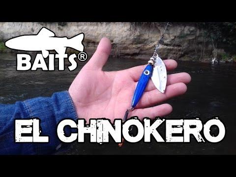 El Chinokero - Primer Spinners para la Pesca de Chinook Creado por Baits