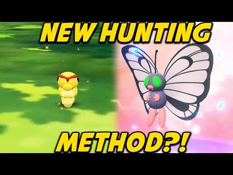 How to Shiny Hunt in Pokemon Let's Go Pikachu and Eevee - Shiny Chaining via Catch Combo