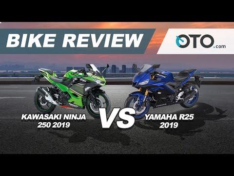Kawasaki Ninja 250 2019 vs Yamaha R25 2018 | Bike Review | Pilih Yang Mana? | OTO.com