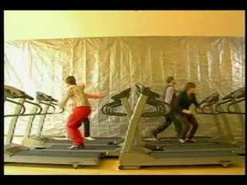OK GO TREADMILL VIDEO, NO EDITS, REAL LIP SYNC