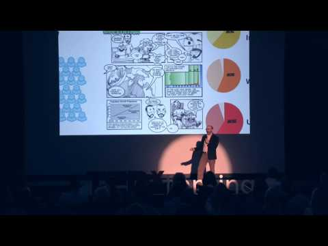 TEDxLansing-Stephen Thomas-The Comic Book:Mild-mannered Amusement by Day,Educational Superhero...